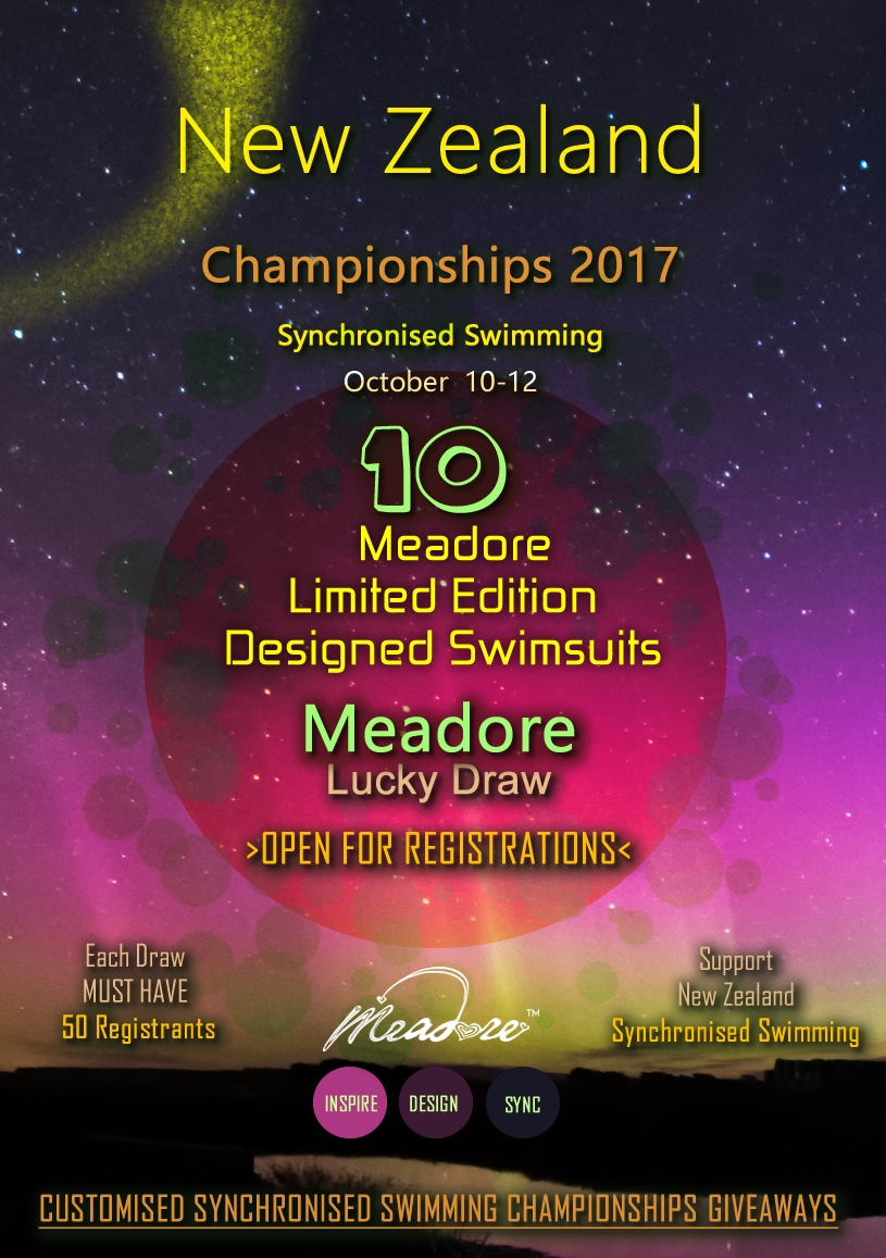 NZ Synchro Nationals 10th-12th October 2017
