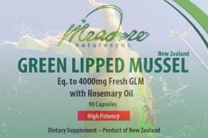 NatureSync Green Lipped Mussel 4000