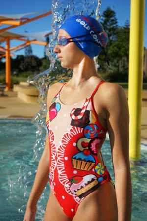 Meadore Ladies One Piece Candy Shop